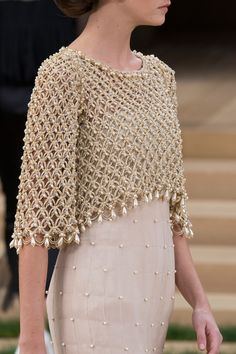 runway-report:   Details at Chanel Couture Spring... - She's A Lady