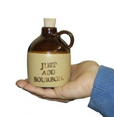 Small Bourbon Jug / Just Add Bourbon | Louisville Stoneware
