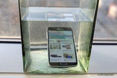 Samsung GALAXY S5: Die IP67-Zertifikation im Test [Video]