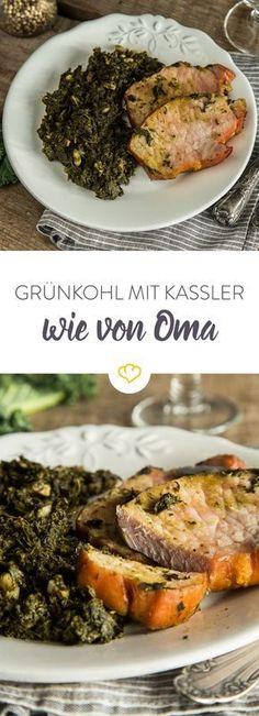 Gewusst wie: Mit dem richtigen Rezept wird deftiger Grünkohl mit Kassler auch in der eigenen Küche mindestens genauso lecker wie bei Oma.