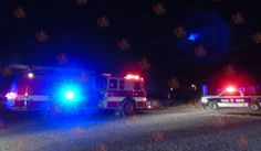 <p>Camargo, Chih.- Tras la fuerte lluvia y en algunos sectores reportaron granizo en Camargo, se presentó el primer accidente, probablemente ocasionado