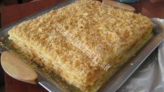 """""""Luxusní dort Napoleon s vaječným krémem připravený za 30 minut"""" – chutná úžasně Cornbread, Banana Bread, Cooking, Ethnic Recipes, Cuisine, Kitchen, Brewing, Sweet Cornbread, Corn Bread"""