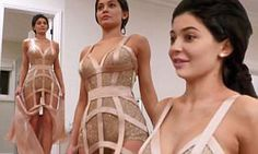 In a new preview for her spinoff show Life Of Kylie, the 20-year-old reality TV star tried on several dresses for the big fashion bash which was attended by her sister Kendall Jenner.