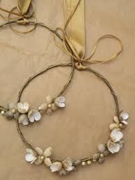 Vintage Wedding Stuff, Wedding Ideas, Tag Image, Pearl Necklace, Wreaths, Weddings, Vintage, Jewelry, Head Bands