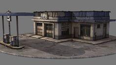 -- Share via Artstation iOS App, Artstation © 2016 Environment Concept Art, Environment Design, Game Environment, 3d Building, Building Exterior, Prop Design, Game Design, Apocalypse Landscape, Sea Of Thieves