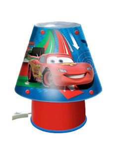 Disney Cars 2 Bedside Lamp