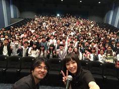 広瀬すず @Suzu_Mg  3月29日 ちはやふるキャンペーンin広島 広島バルト11さんにお邪魔しました 福岡に続きまた2回とも満席… 本当にありがとうございます‼︎
