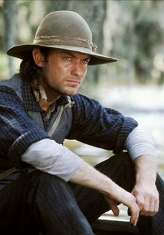 Jude Law in Cold Mountain----um......yeah. he's really good looking. just sayin.