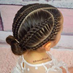40 Trendy Hair Ideas For Girls Hairdos Girls Hairdos, Cute Hairstyles For Kids, Baby Girl Hairstyles, Kids Braided Hairstyles, Princess Hairstyles, Trendy Hairstyles, Professional Hairstyles, Braids For Kids, Girls Braids