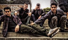 Dylan O'Brien, Carver Twins, & Tyler Posey