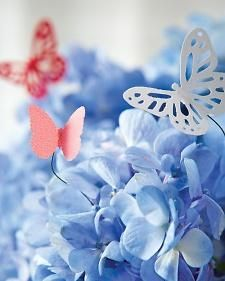 Paper Butterflies Craft