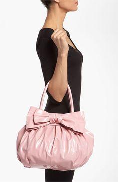 Valentino 'Lacca Bow' Shopper