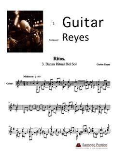 Danza Ritual Del Sol by Reyes Sheet Music, Math, Musica, Math Resources, Music Sheets, Mathematics