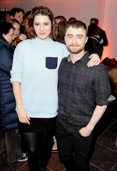 """"""" """" Mary Elizabeth Winstead and Daniel Radcliffe attend the 'Swiss Army Man' Premiere Party at The Acura Studio at Sundance Film Festival 2016 on January 22, 2016 in Park City,..."""