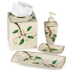 Lenox Holiday Nouveau® Bath Ensemble - BedBathandBeyond.com