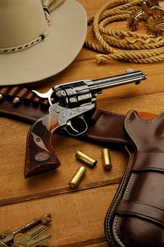 Posts about Gun holsters written by Thanh N. Weapons Guns, Guns And Ammo, Single Action Revolvers, Cowboy Action Shooting, Revolver Pistol, Hunting Guns, Gun Holster, Cool Guns, Le Far West
