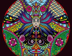 """Check out new work on my @Behance portfolio: """"Symmetrical drawing 'Face'"""" http://on.be.net/1L77YuV"""