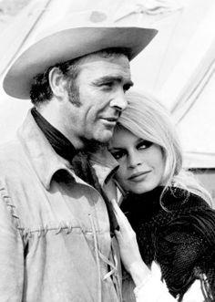 Sean Connery & Brigitte Bardot ~ Shalako, 1968