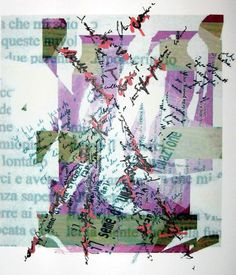 The New Post-literate: A Gallery Of Asemic Writing: Trigrammi Prima Serie from Biagio Cepollaro