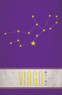 I find it hilarious that the constellation for, Virgo, the Virgin, looks like a woman lying on her back.