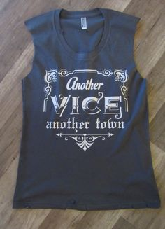 0379de4a376e33 Another Vice another town Country Tank Top  Miranda Lambert tank by  dirtroadavenue on Etsy