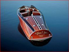 2010 High Powered woodie boat