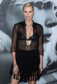 """#CharlizeTheron, #LosAngeles, #Premiere Charlize Theron - """"Atomic Blonde"""" Premiere in Los Angeles 07/24/2017 