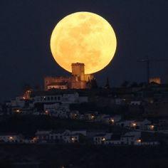 Epic Supersized Moon