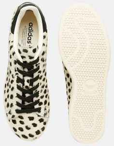Image 3 of adidas Originals Stan Smith Pony Effect Leopard Sneakers S75117