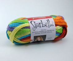 Starbella Ruffle Scarf Yarn by Premier: Fly a Kite by PurpleOkapiStudio, $6.75