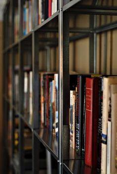 Custom wall of shelving…cheap! - IKEA Hackers http://www.ikeahackers.net/2010/08/custom-wall-of-shelving-cheap.html