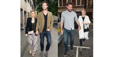 Chris Hemsworth and Emily Blunt have been spending time together on set for their upcoming film, The Huntsman, and now they're extending the friendship to include their significant others. Chris and his wife Elsa Pataky were spotted with Emily and her husband John Krasinski going out to dinner in London. Double date!   - MarieClaire.com