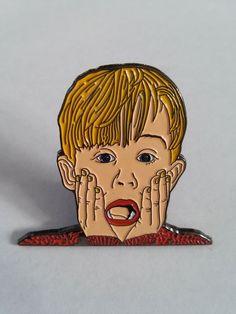 Home Alone - Kevin Soft Enamel Lapel Pin by quasivisualarts on Etsy https://www.etsy.com/listing/247247392/home-alone-kevin-soft-enamel-lapel-pin