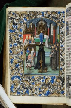 Book of Hours, MS H.7 fol. 108v - Images from Medieval and Renaissance Manuscripts - The Morgan Library & Museum