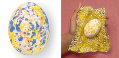 stained easter egg-dyeing tinfoil easter eggs-with acrylic paints - tina - Easter Egg Crafts, Easter Eggs, Craft Activities For Kids, Diy Crafts For Kids, About Easter, Shell Crafts, Egg Decorating, Easter Ideas, Laide