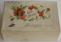 Cardboard Wooden Boxes French Nursery, Nursery Rhymes, Wooden Boxes, Vignettes, Home And Living, Poppies, Bloom, Antiques, Pretty