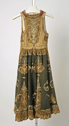 Coat (back)  Date: 19th century Culture: probably Greek Medium: wool, silk, metallic Dimensions: Length at CB: 42 in. (106.7 cm)