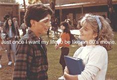 Ralph Macchio and Elisabeth Shue - Karate Kid Retro Humor, Mood Quotes, True Quotes, Qoutes, Citations Film, Ralph Macchio, 80s Movies, Imdb Movies, Film Quotes