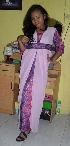 Sasirangan dress