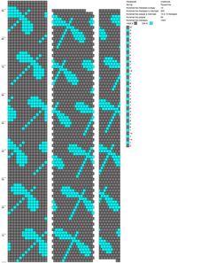 14 around tubular bead crochet rope pattern ropenecklace Crochet Bracelet Pattern, Loom Bracelet Patterns, Crochet Beaded Bracelets, Beaded Necklace Patterns, Bead Crochet Patterns, Bead Crochet Rope, Beading Patterns, Beading Tutorials, Beaded Crochet