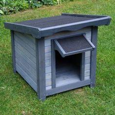 diy cr er une cabane pour chat en bois en 7 tapes projets essayer pinterest cabanes. Black Bedroom Furniture Sets. Home Design Ideas