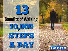 13 Health Benefits of Walking 10000 Steps a Day