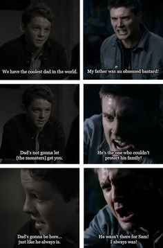 [SET OF GIFS] 3x08 A Very Supernatural Christmas & 3x10 Dream a Little Dream of Me - Evolution of Dean