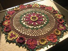 Renaissance Beauty in autumn colors--new, better pics!! - Doilies & Runners - Crochetville