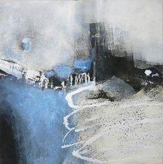 """Renate Migas, """"Kühler Morgen I"""" Mit einem Klick auf """"Als Kunstkarte versenden"""" versenden Sie kostenlos dieses Werk Ihren Freunden und Bekannten."""