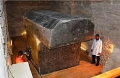 Mystery grows over 100-ton granite boxes in Egypt