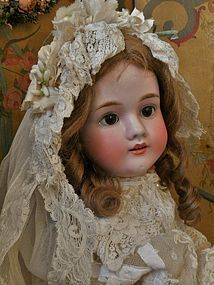 """Pretty German Bisque """" Walkure """" by Kley and Hahn from WHEN DREAMS COME TRUE on Doll Shops United http://www.dollshopsunited.com/stores/whendreamscometrue/items/1286230/Pretty-German-Bisque-Walkure-by-Kley-Hahn #dollshopsunited"""