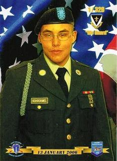 Army Spc. Collin R. Schockmel  Died January 16, 2007 Serving During Operation Iraqi Freedom  19, of Richwood, Texas; assigned to the 1st Battalion, 9th Infantry Regiment, 2nd Brigade Combat Team, 2nd Infantry Division, Fort Carson, Colo.; died Jan. 16 of wounds suffered when his unit came in contact with enemy forces using grenades during security and observation operations in Ramadi, Iraq.