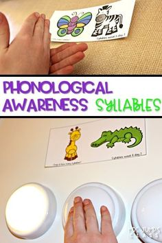 Teaching Phonological Awareness Syllables in kindergarten and first grade.