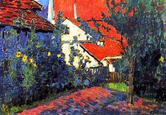 Red Roofs Alexei Jawlensky - circa 1907